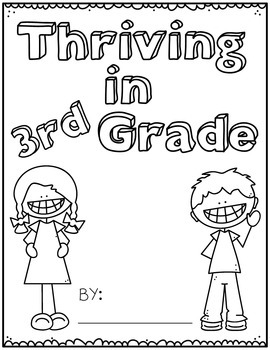 Back to School Booklet & Activities for 1st grade, 2nd grade, and 3rd grade
