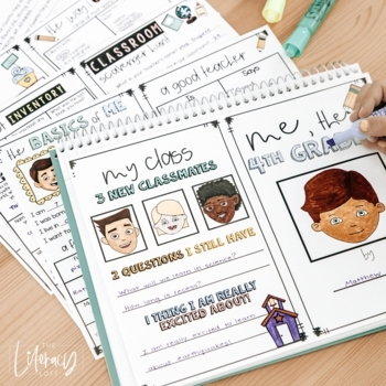 Back to School Booklet {First Week Activities for Grades 2-5}