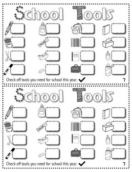 Back to School Booklet (Lexile Leveled Passages and Activities)