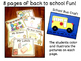 Back to School Booklet and Bus Craft ( Kindergarten)