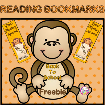Back to School Bookmark FREEBIE