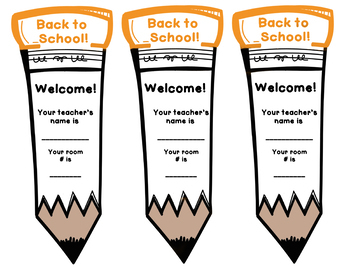 Back to School Bookmark! Free!