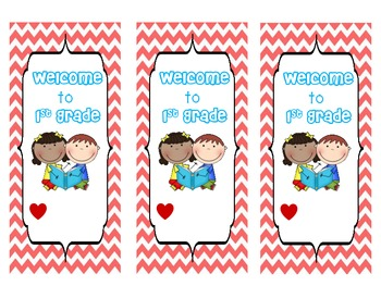 Back to School Bookmarks