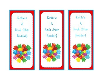 Back to School Bookmarks - Editable for Personalization!