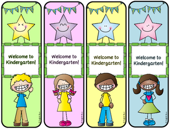 Back to School Bookmarks - FREE