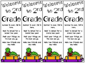 Back to School Bookmarks *FREEBIE*