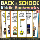 Back to School Bookmarks - Funny Joke Riddles