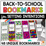 Back to School Bookmarks for Setting Intentions - Zen Dood