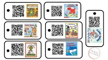 Back to School Books Listening Center (QR Codes)