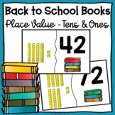 Back to School Books Place Value Tens and Ones