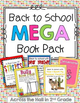 Back to School Books and Activities {MEGA} Pack