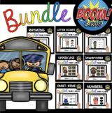 Back to School Boom Card™ BUNDLE - Alphabet - Phonics - Nu