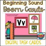 Back to School Boom Cards- Beginning Sounds