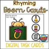 Back to School Boom Cards- Rhyming Bees