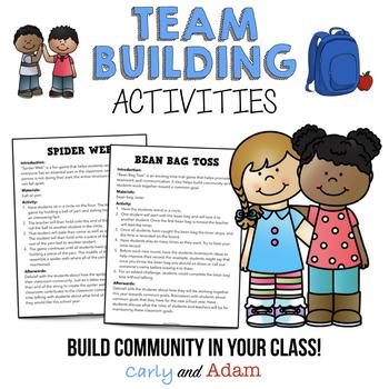 Nd Grade Team Building Activities