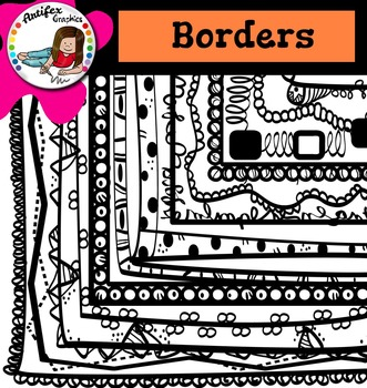 Back to School Borders (and frames) 1