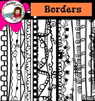 Back to School Borders (and frames) 2