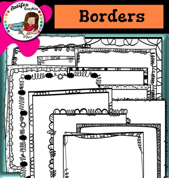 Back to School Borders (and frames) 3