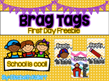 Back to School Brag Tag Freebie!