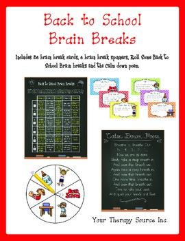 Back to School Brain Breaks