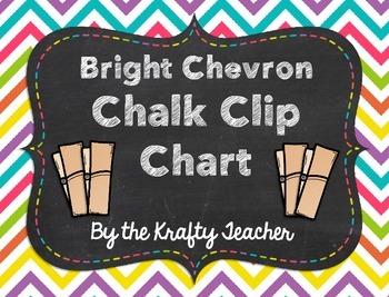 Clip Chart Chalk and Chevron Brights