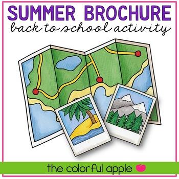 Back to School Brochure Activity