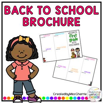 Back to School Brochure - Community Helpers