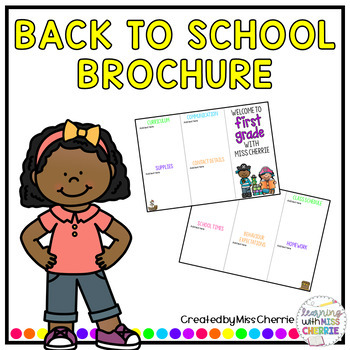 Back to School Brochure - Pirates