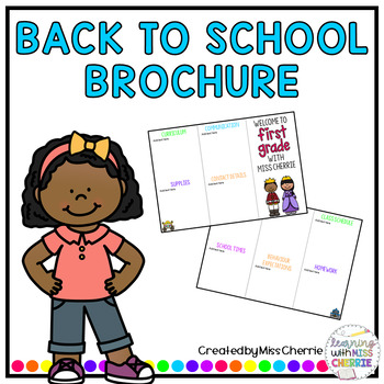 Back to School Brochure - Fairytales