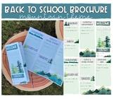 Back to School Brochure/ Syllabus (Mountain Theme)