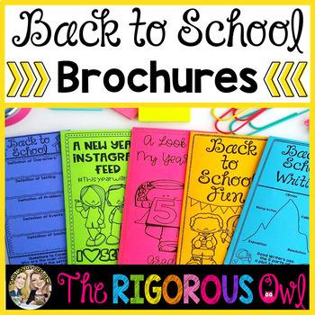 Back to School Brochures