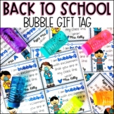 Back to School Bubble Gift Tags