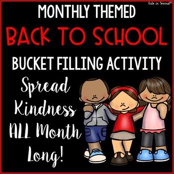 Back to School Bucket Filling Activities