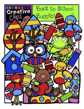 Back to School Buddies {Creative Clips Digital Clipart}