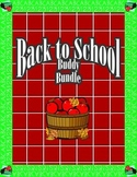 Back to School Buddy Activity Bundle
