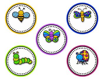 Back to School Bug Theme {Editable}