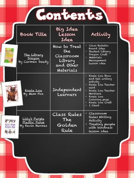 Back to School Building a Caring and Sharing Environment with Mentor Texts