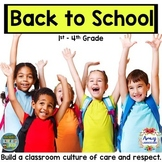 Using Guided Reading for a Classroom Culture of Respect - Back to School Bundle