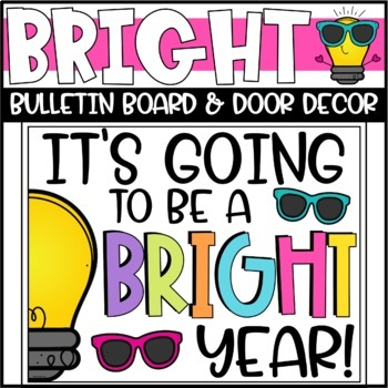 Back To School Bulletin Board Or Door Decoration By Briana Beverly