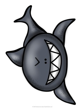 Back to School Bulletin Board 4th Grade Sharks