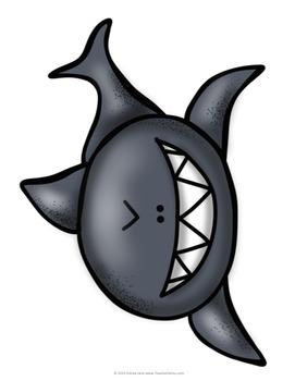 Back to School Bulletin Board 5th Grade Sharks