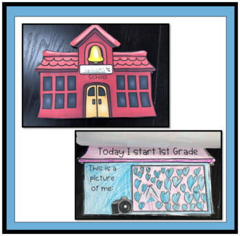 Back to School Bulletin Board, Art and Writing Activity