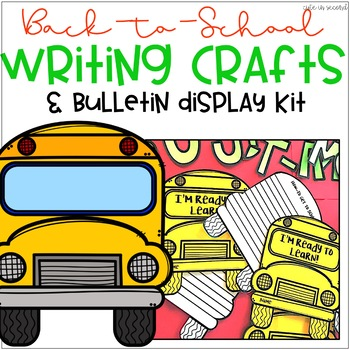 Back to School Bulletin Board August/ September Writing Activity