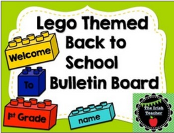 Back to School Bulletin Board Bundle