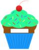 Back to School Bulletin Board Cupcakes