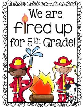 Back to School Bulletin Board Fifth Grade