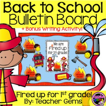 Back to School Bulletin Board First Grade