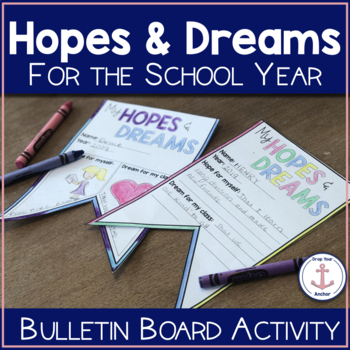 Back to School Bulletin Board - Hopes and Dreams