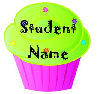 Back to School Bulletin Board Images with Editable Names