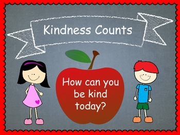Kindness Counts (Character Education)
